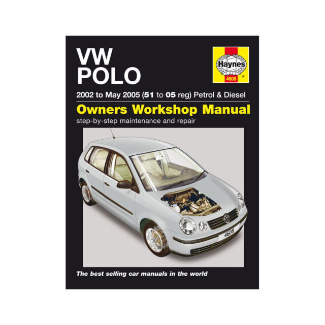 volkswagen vw polo haynes owners workshop repair manual 2002 2005 rh ebay co uk Yellow Volkswagen Polo 2003 2003 vw polo owners manual