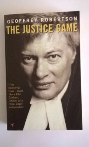 1 of 1 - The Justice Game by Geoffrey Robertson (Paperback, 1999)