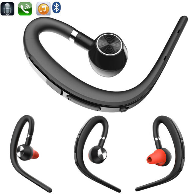 Ear Hook Bluetooth Headset Headphone With Mic For Cell Phones Huawei Samsung Lg For Sale Online Ebay