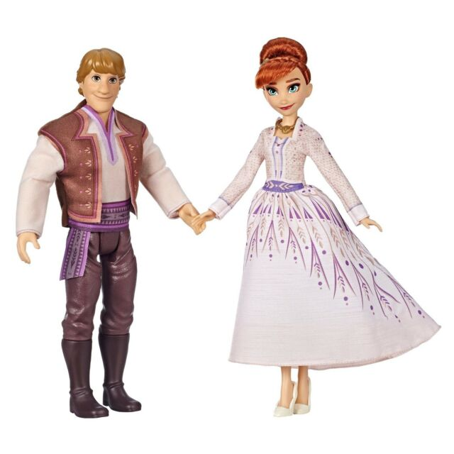 Anna and Kristoff Figures Dolls Disney Frozen 2 Movie Set 2 Doll Toy Gift NEW