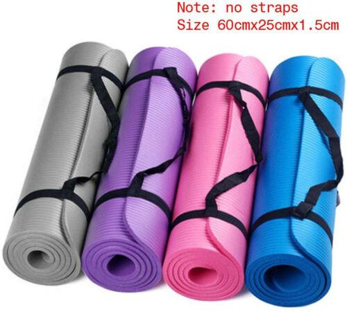 Small 15 Mm Thick Durable Yoga Mat Anti-Skid Sports Fitness Mat Anti-Skid Mat