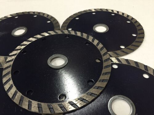 5-pack 4 inch diamond blade for cutting tile,stone and masonry materials