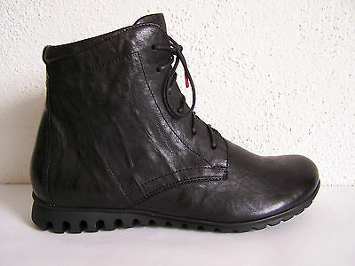 Think Schuh Modell Bessa schwarze capra rustico Stiefel Boots THINK Papiertüte
