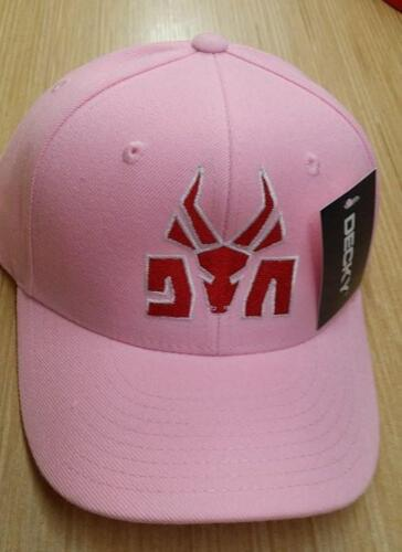 Die Antwoord Baseball Cap Embroidered Logo Pink Hat Velcro Music hip hop SALE