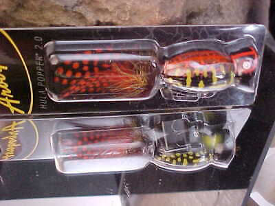 NEW 2020 Arbogast Hula Popper 2.0 in Color WHITE ZOMBIE TopWater Lure for Bass