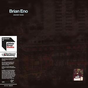 Brian Eno-Discreet Music (Limited Halfspeed Master 2lp) 2 VINILE LP NUOVO