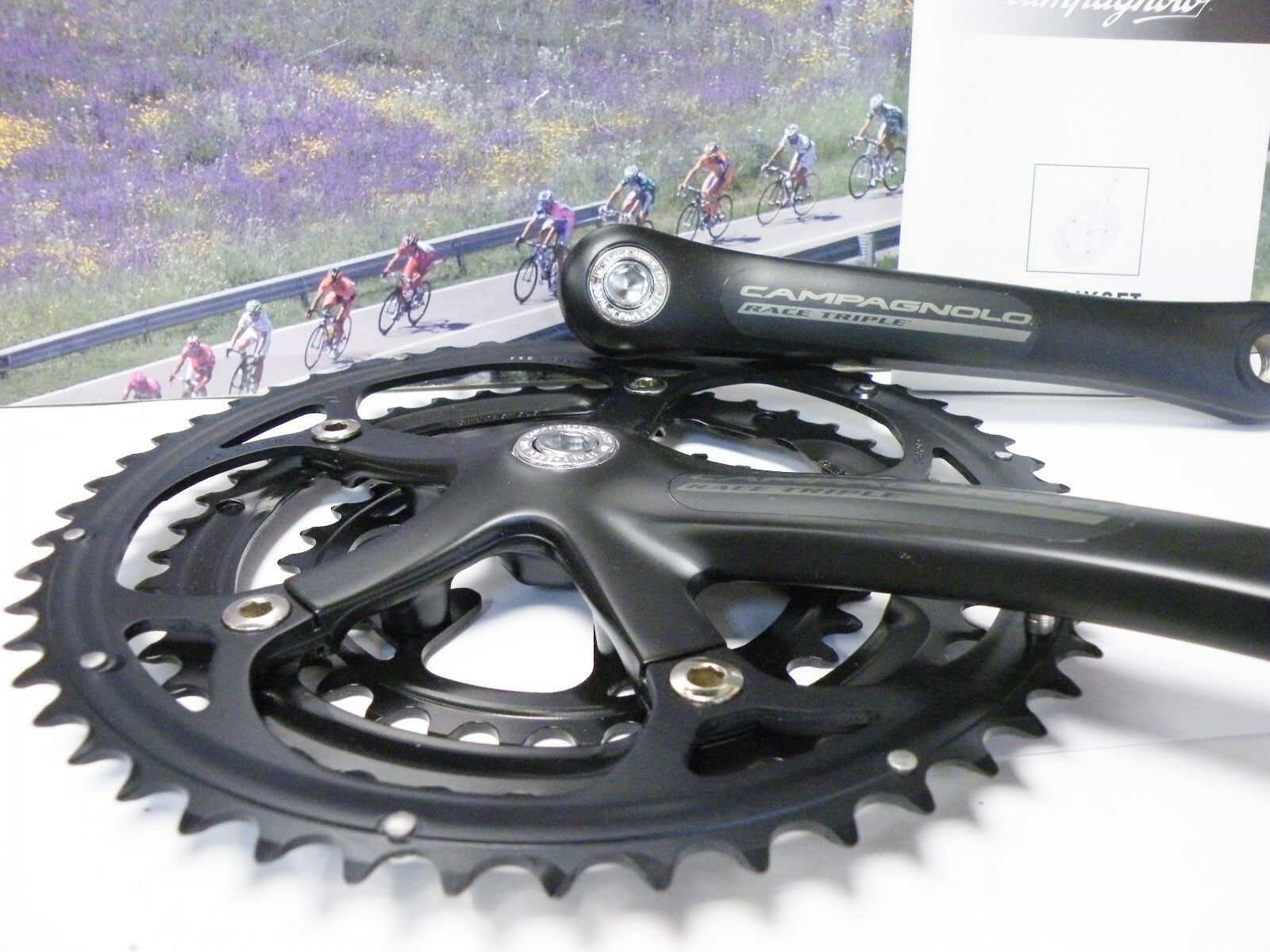 Campagnolo Racing Triple crankset 9-10 speed 170mm  , 30-42-52 NOS  for wholesale