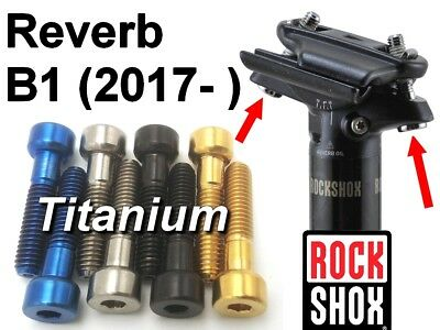 Reverb Stealth B1 RockShox Post Clamp Kit Reverb 2017
