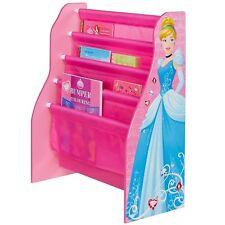 Disney Princess Sling Bookcase Kids Book Storage Childrens Bedroom Bookshelf