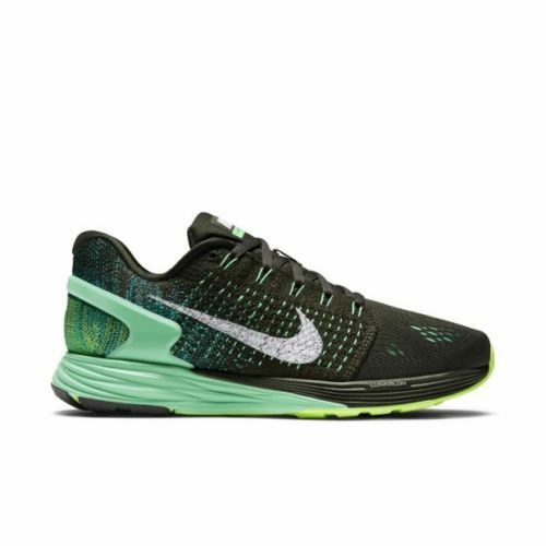 Nike Lunarglide Wmns 7 Sequoia White Green Glow Lifestyle Running 47356-300 Sz 5