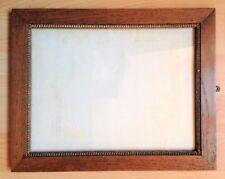 ancien cadre avec vitre pour photo gravure dessin vue 26x19,5 n°240