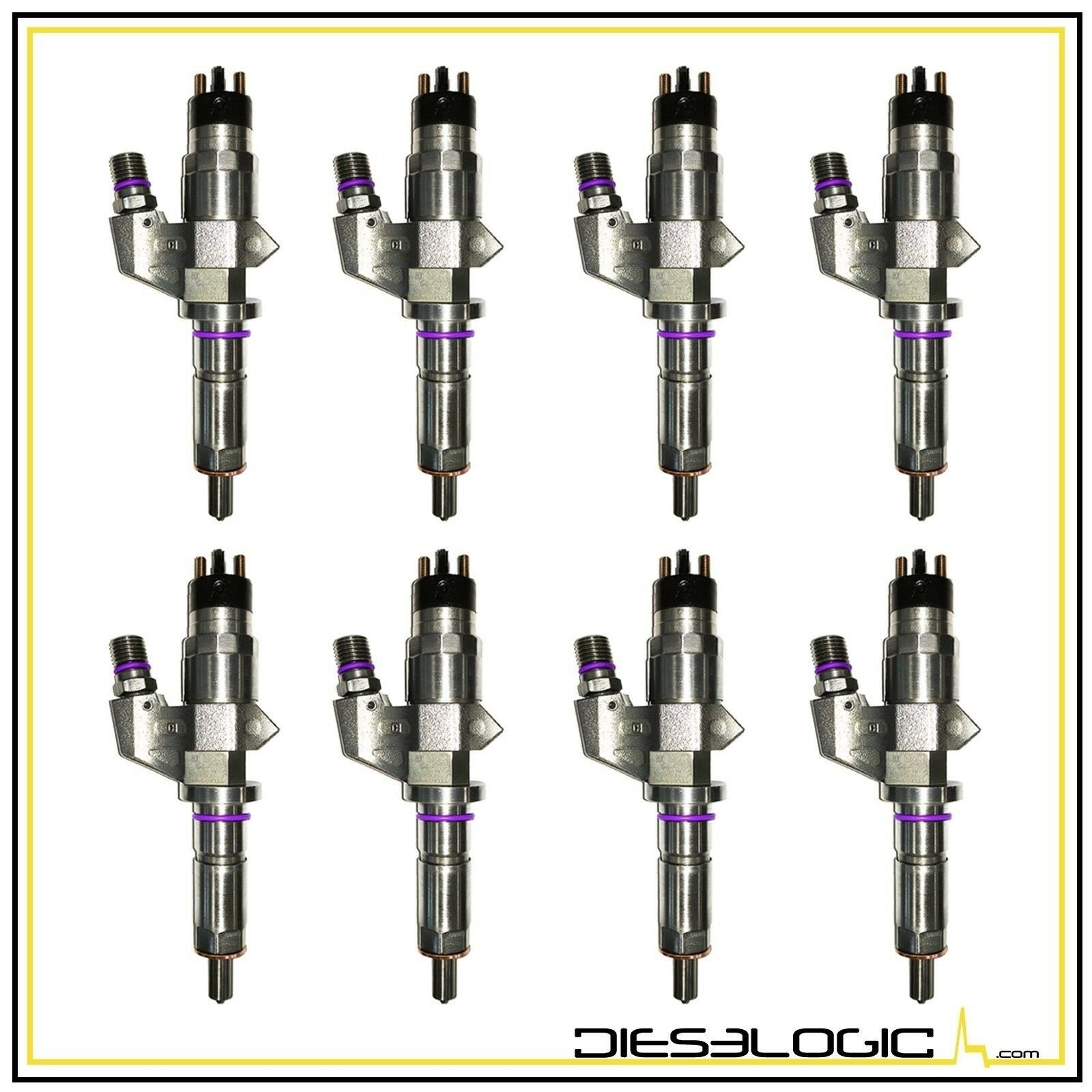 3. Dieselogic 2001-2004 CHEVY/GMC DURAMAX LB7 6.6L DIESEL INJECTOR LB7 SET