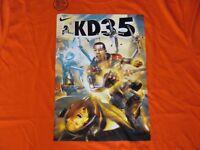 Kevin Durant kd 35 Super Hero Dri-fit T-shirt Color: Orange Men's X-large