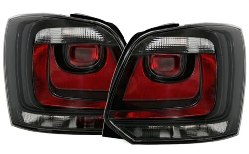 Rear Lights VW Polo 6r 2009-2014 1.4 TSI 180 Gti 2.0 TSI 220 WRC Black Crystal