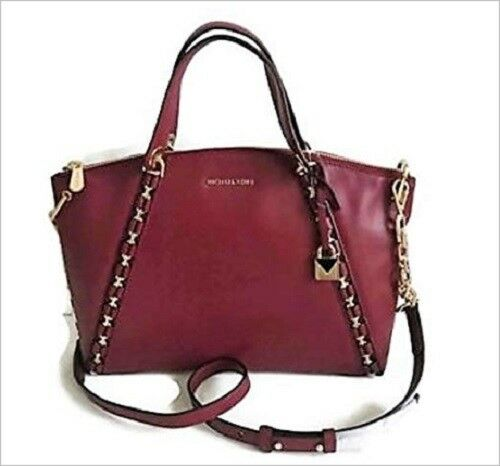 28d84162da Michael Kors Sadie Large Satchel Bag Leather Mulberry 30f7gaes3l for sale  online