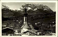 Reit im Winkl 1939 Oberbayern Berg Zahmer Kaiser Kaisergebirge Kirche Dorf Haus
