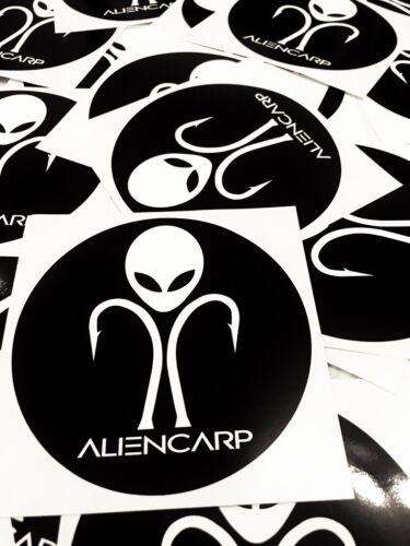 Alien Carp 3x Bucket Sticker Set