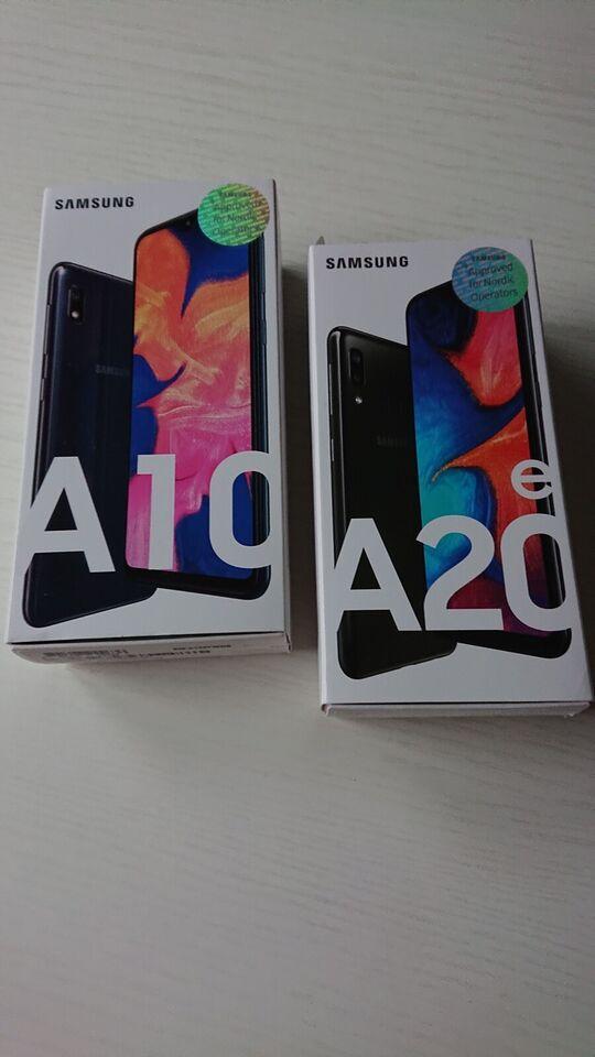 Samsung A20e og A10, 32 GB , Perfekt