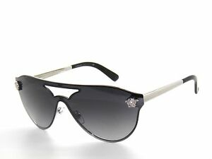 72316df57a Image is loading VERSACE-VE2161-2161-1000-8G-SILVER-GREY-GRADIENT-