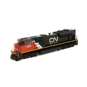HO-Scale-Athearn-Genesis-68894-SD70ACe-Canadian-National-8103-w-SOUND-amp-DCC