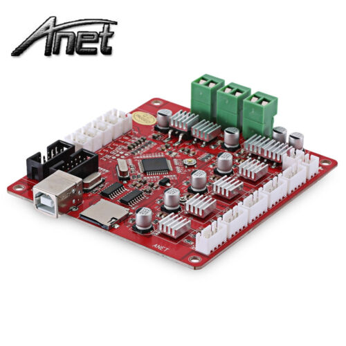 Anet V1.0 Controller Board Mainboard Ramps1.4 Update Version for A8 3D Printer #