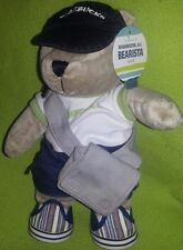 STARBUCKS WASHINGTON DC CITY TEDDY BEAR BEARISTA 2007 PLUSH STUFFED ANIMAL