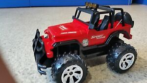 Jeep Radioguidé RO-50358A Rouge cod.29121