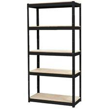 Stratco Shelf Kit Saver Slot-N-Lock Black 5 Shelf