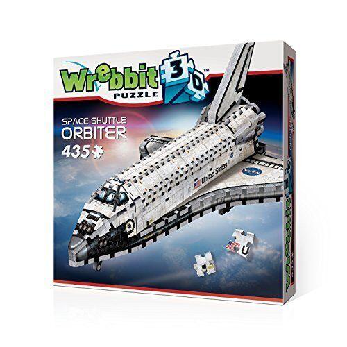 NASA Space Shuttle Orbiter 3D Puzzle 435 Pcs WREBBIT