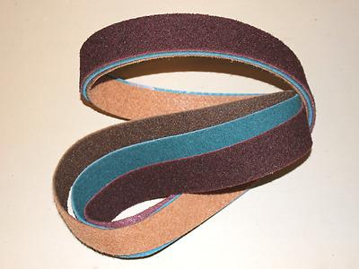 """3//4/"""" x 72/""""  Surface Conditioning Belt A Medium Grade Maroon"""