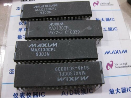 1x MAX130CPL 3½ Digit A//D Converters with Bandgap Refrence