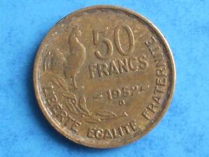DéSintéRessé Piece De Monnaie 50 Francs 1952 B Clair Et Distinctif