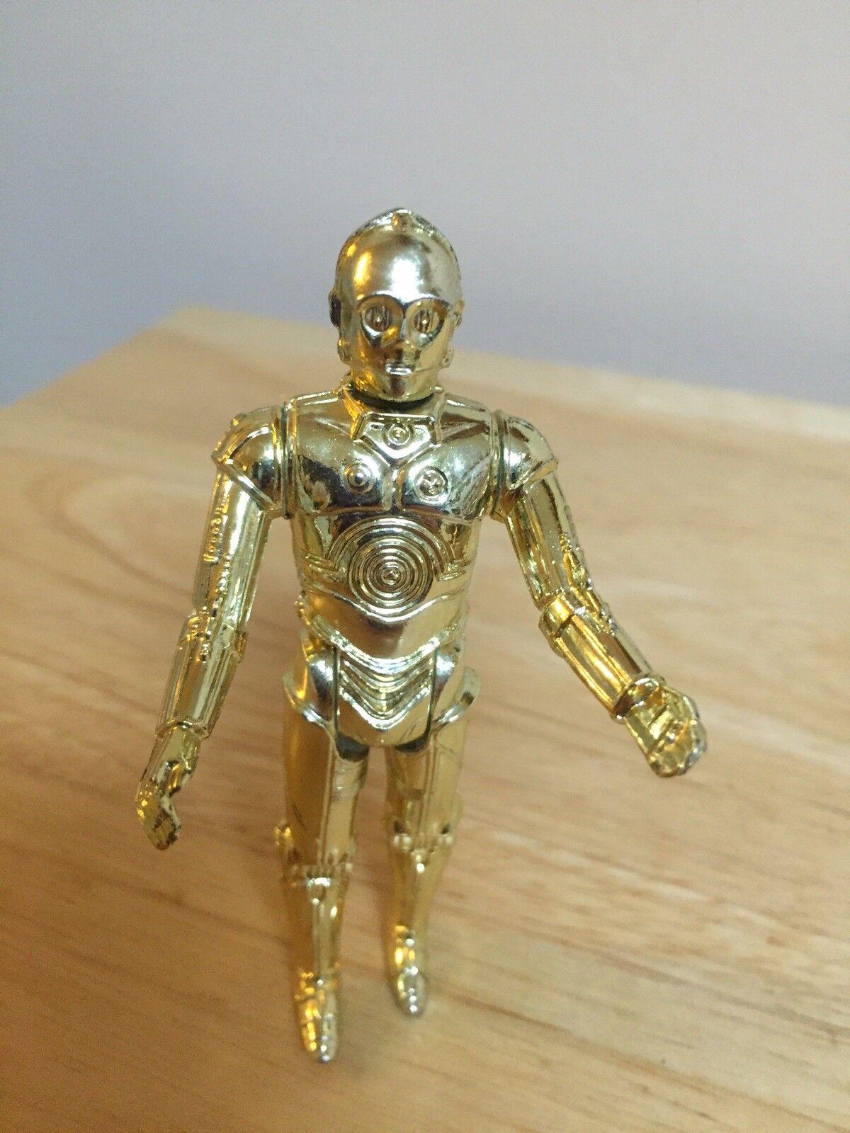 1977 Star Wars Action Figure C-3PO Vintage