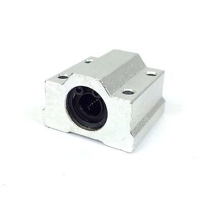 SC8UU Linear Bearing Slide Block Bracket - 8mm Shaft - 3D Printer / CNC / RepRap