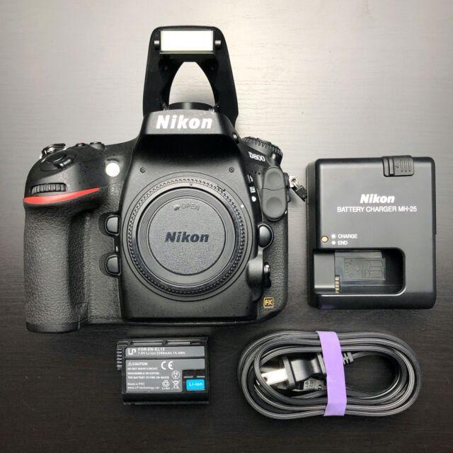 Nikon D800 - USA Model Shutter Count 15k - 36.3MP Digital SLR Camera Body Only