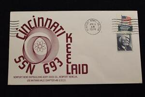 Naval-Cubierta-1974-Maquina-Cancelado-Keel-Tumbado-Uss-Cincinnati-SSN-693