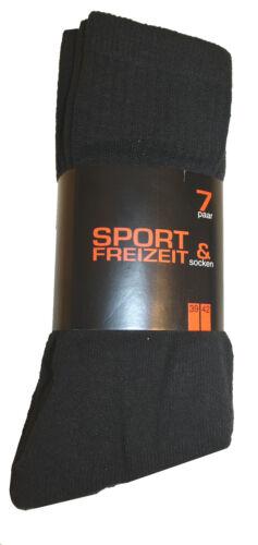 7//14//21 Paire Femmes Hommes Chaussettes De Sport Chaussettes De Tennis Chaussettes De Travail Loisirs