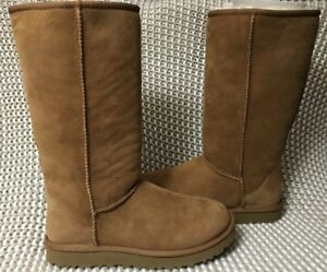 f7f33bf2505f4 UGG Classic Tall II 2.0 Chestnut Water-resistant Suede Boots Size US ...