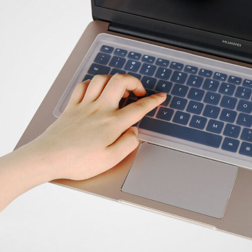 """Clear Protector Cover Universal Laptop Silicone Keyboard Skin fit 10/"""" 14/"""" 17/"""""""