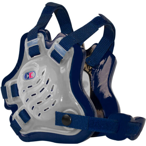 Translucent//Navy//Navy Cliff Keen F5 Tornado Wrestling Headgear