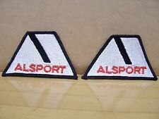 2 NOS Vintage Alsport Steen Motorcycle Tri Sport 3 Wheeler Jacket Patch