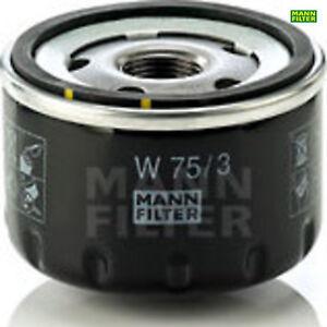 Ölfilter Motorölfilter MANN-FILTER W75/3