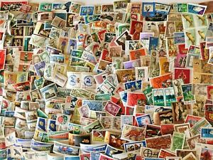 GERMANY-DDR-GRD-ONLY-500-STAMPS-Used-FREE-SHIPPING