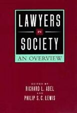 Lawyers in Society: An Overview-ExLibrary