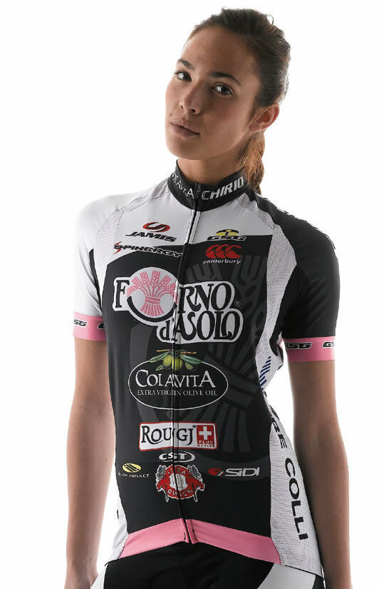 NEW Forno d'Asolo Women's CYCLING SHORT SLEEVE JERSEY Made in  by GSG