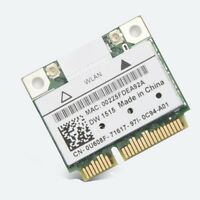 Dell Dw1515 Atheros Ar9280 U608f Wireless Wlan N Half Mini Pci-e Card