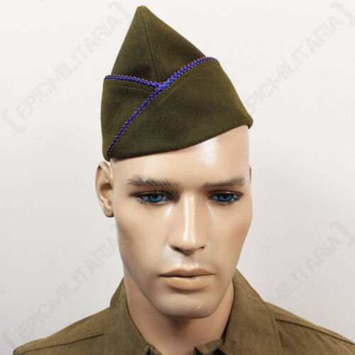 WW2 US ISSUE TYPE GARRISON CAP Repro Military Army American Hat AIR CORPS