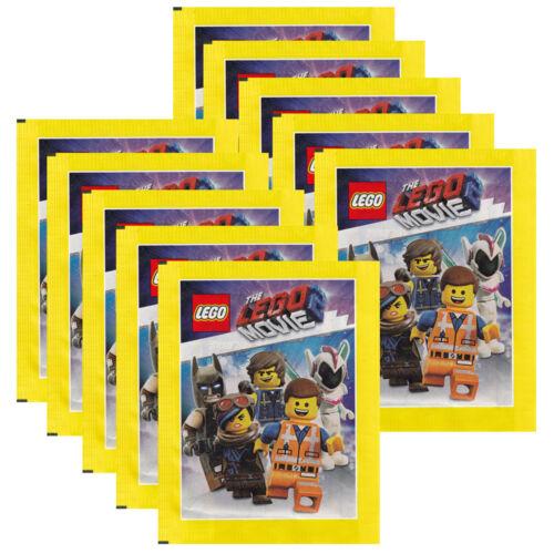 10 Tüten Blue Ocean The LEGO Movie 2 Sammelsticker