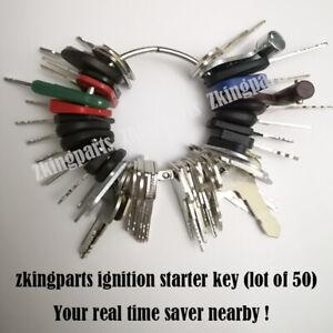 New-50-Universal-Starter-Key-Plant-Key-Ignition-Starter-Key-Heavy-Equipment