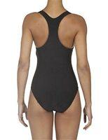 Decathlon Shaping Body One Piece Swimsuit By Nabaiji Black Sz Large